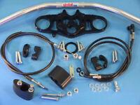Abm Superbike Handlebar Kit Honda CBR 1000 RR (SC59) 08-09 Black