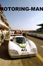 Jaguar XJR5 groupe 44 Racing Photo Le Mans 1984 Adamowicz John Watson Lena