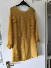 Topshop Size 8 (EUR 36) Layered Dress With Long Sleeves - Excellent Condition