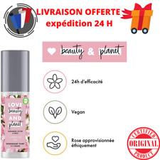 Deodorant Femme Efficace 24h Huile de Coco Bio Beurre de Muru Rose vegan 125ML
