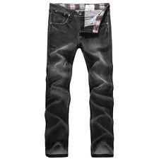 FOX JEANS Men's Hyman Regular Fit Straight Black Denim Jeans SIZE 32