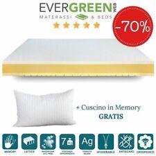 EVERGREENWEB ✅ Materasso Singolo 85x190 DUAL SEASON + Cuscino GRATIS 🎁