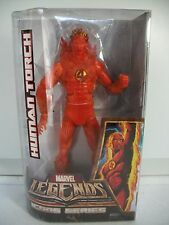 "Marvel Legends Icons Series Fantastic Four 4 HUMAN TORCH 12"" Inch 1/6 Fig ~ NEW"