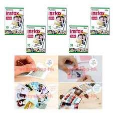 50 Pcs Fuji Fujifilm Instax Mini Film 5 pack Mini 9 8 Mini 25 Mini 7s