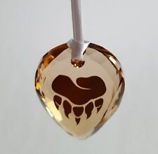 Swarovski Crystal, SCS Arcadia Bear Paw Vip Lounge Ornament, Art No 5244645
