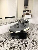 """Air Jordan Retro 4 """"Cool Grey"""" Mens Size 10.5"""