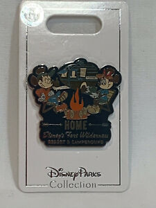 Disney World Parks Pin Fort Wilderness Resort and Campground Home  NOC
