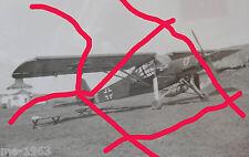 Foto original fi 156 Fieseler Storch en rusia con escudo temporada León