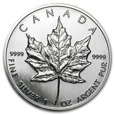 1996 Canada 1 oz Silver Maple Leaf BU - SKU #11060