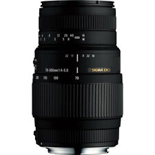 Sigma Second Stock 70-300mm F4-5.6 DG Macro Lens - Canon Fit