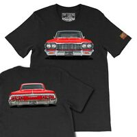 1964 Chevy Impala SS  The Legend Classic Car, Men's T-shirts Made in USA