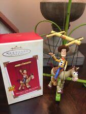 2002 Hallmark Ornament: Woody And Bullseye: Disney/Pixar's Toy Story 2