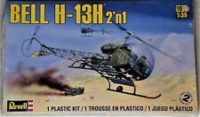Revell 1/35 Scale Bell H-13H 2' n 1 Helicopter - Factory Sealed