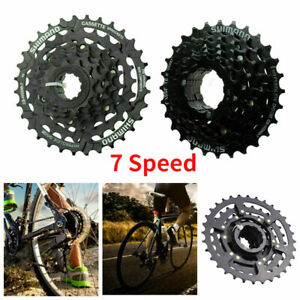 7 fach Fahrrad Kassette Zahnkranz Ritzelpaket 12-28T/12-32T Zähne Ritzelblock