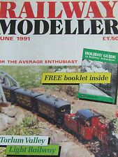 RAILWAY MODELLER MAGAZINE JUN 1991 TORLUM VALLEY BAYARDS DOCK BOOSTER WAGONS FRY