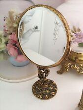Matson Mirror  Vanity Stand Double Swivel Signed Ormolu