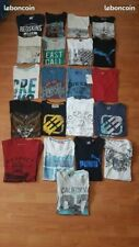 Lot t shirts taille 16 ans beg
