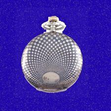 Superb Swiss Union Havila Silver  & Niello  17 Jewel Hunter Pocket Watch 1895