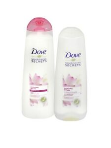 Dove Nourishing Secrets Ritual-Shampoo 250ml & Conditioner 200ml- Pink Lotus Set
