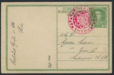 AUSTRIA CZECHOSLOVAKIA 1908 POST CARD OF AUSTRIA KAIZAR 60 YEAR ANNIVERSARY WITH