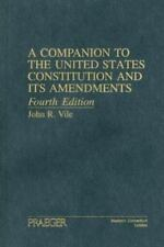 A Companion to the United States Constitution and Its Amendments-ExLibrary