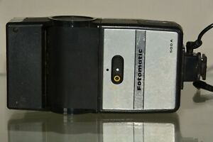 Vintage Fotomatic 500A Automatic Swivel Bounce Head Flash Working
