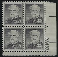 US Stamps - Scott # 1050 - Plate # Block - Mint Never Hinged             (D-032)