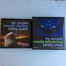 ARVARI  REMOTE VIEWING & REMOTE INFLUENCING (GERALD O'DONNELL) NEW 24 DISC SET