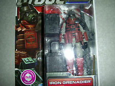 G.I.JOE PURSUIT OF COBRA IRON GRENADIER ELITE TROOPER HASBRO 2010 1120 GI JOE