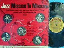 Jazz Misson To Moscow ORIG US LP EX '62 Colpix Zoot Sims Mel Lewis Jazz Bop Cool