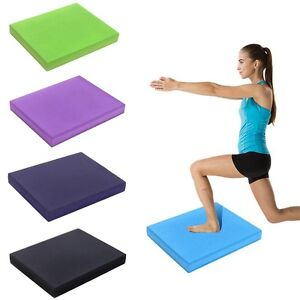 "Large Balance Foam Yoga Pad Physical Therapy Fitness Mat 19.7"" x 15.7""x 2.4"""