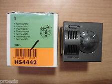 BTICINO HS4442 Axolute oscuro termostato ambiente texto original en calefacción