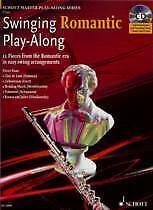 SWINGING ROMANTIC Play Along Flute Book & CD