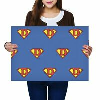 A2 - Super Dad Daddy Father's Day Hero Poster 59.4X42cm280gsm #8510