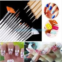 DIY Nail Art Design Brushes UV Nail Polish Painting Drawing Dotting Pen Tool Set