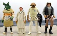 Star Wars PotF Rebel Lot - Fleet Trooper Mon Mothma Admiral Ackbar Ishi Tib OOP