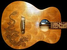 """Blueberry Special Order Acoustic Bass Guitar """"Fierro""""  90 Day Delivery"""