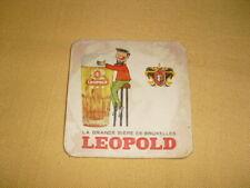 """SOUS-BOCK  Leopold """"La grande bière de Bruxelles"""""""