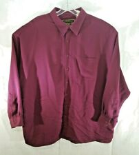 George Foreman Mens Dress Shirt Long Sleeve Button Down Big & Tall Size 3XL