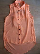 Bershka camisa naranja.Nueva a estrenar.Talla S.Muy chula!!!!!!