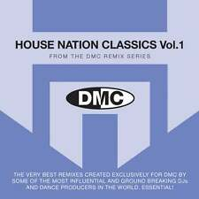 DMC House Nation Classic Volume 1 Remixes DJ CD Remix