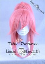 Halloween Wig Cosplay FGO Fate/Grand Order cat pink clip style fashion Hair
