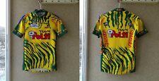 Santini Cycling Jersey Team Polti shirt Xl Camiseta Italy Run Vintage