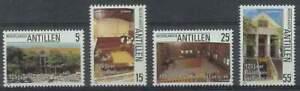 Ned. Antillen postfris 1986 MNH 831-834 - Raadhuis / Gerechtsgebouw