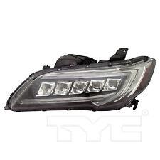 FITS ACURA RDX 2016-2018 LEFT DRIVER LED HEADLIGHT HEAD LIGHT FRONT LAMP W/BULBS
