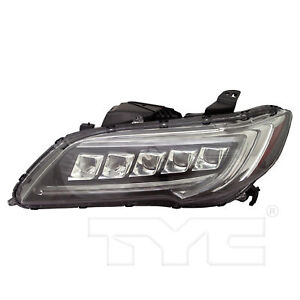 FITS ACURA RDX 2016-2018 LEFT DRIVER LED HEADLIGHT HEAD LIGHT FRONT LAMP W/BULBS