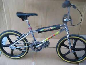 "20"" 1990s GT Mach 1 BMX Bike"