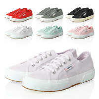 NEU Superga Damen Sneaker Low Top Canvas Sportschuhe Damenschuhe Color Mix