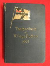 Imperial German Period 1907 World's Fleets HandBook.