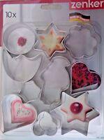 Ausstechformen Keksformen Backen Weihnachten Plätzchen Weihnachtsfiguren Formen